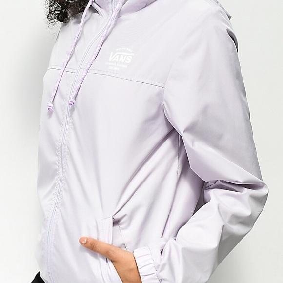bc397501b9 Windbreaker - Vans lavender Kastle Jacket